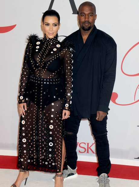 Kim and Kanye CFDA Awards 2015
