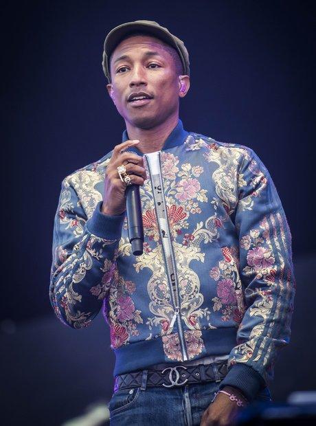 Pharrell Isle Of Wight Festival 2015