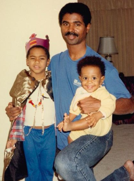 Big Sean and Dad