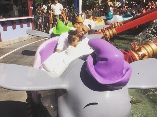 Chris Brown Royalty Daughter Disney Instagram