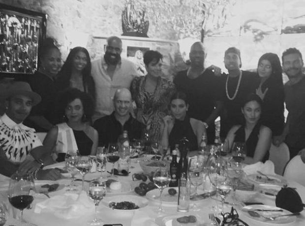Tyga Kylie Jenner Kim Kardashian Lewis Hamilton