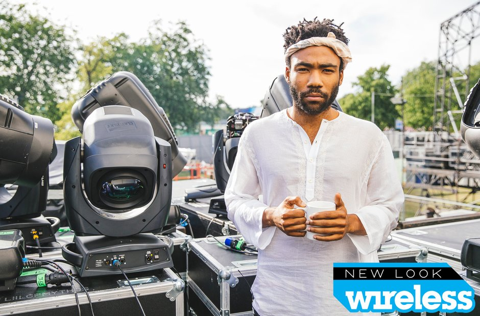 Childish Gambino Wireless Festival 2015