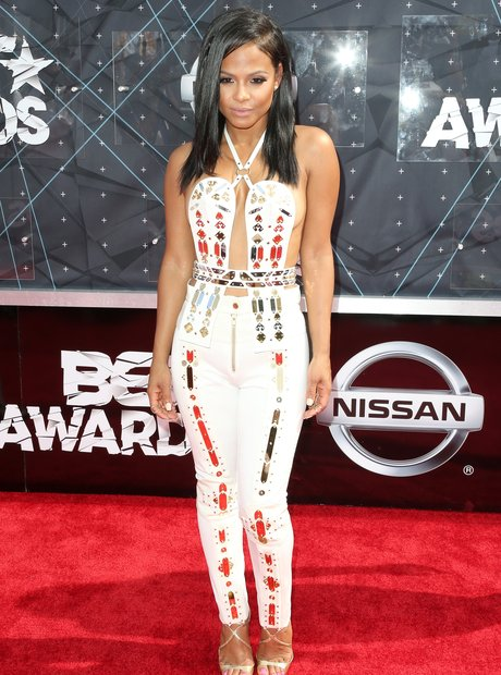 Christina Milian BET Awards Red Carpet 2015