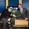 Image 2: Eminem with Stephen Colbert