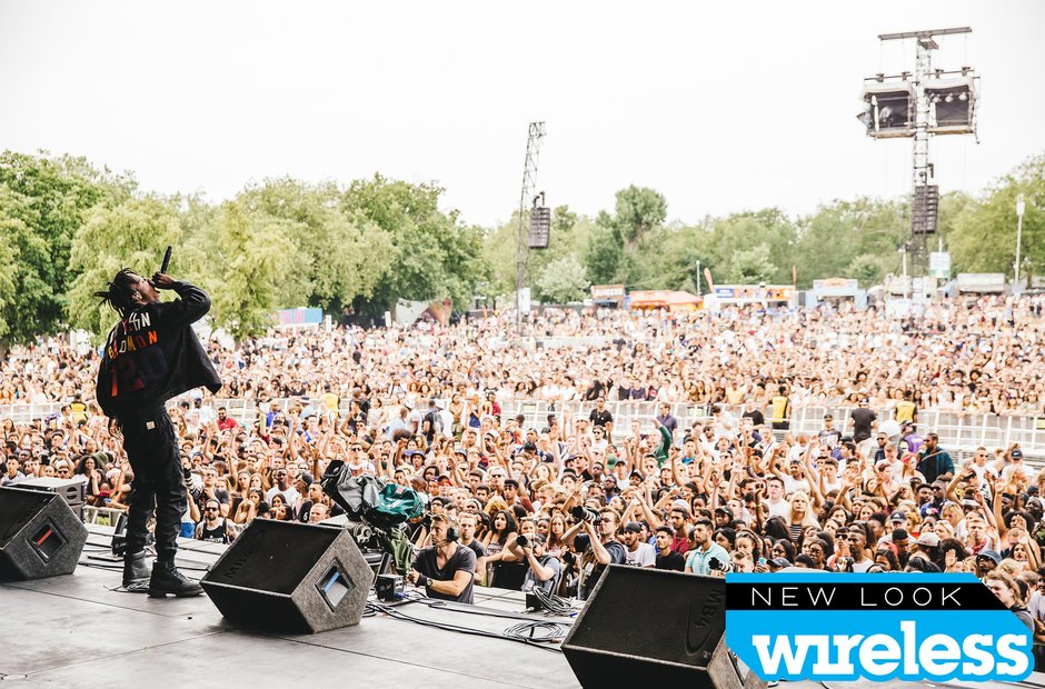 Joey Bada$$ Wireless Festival 2015