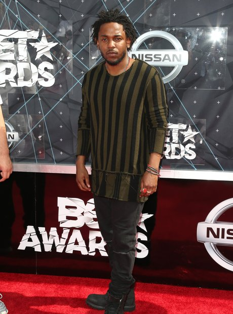 Kendrick Lamar BET Awards Red Carpet 2015