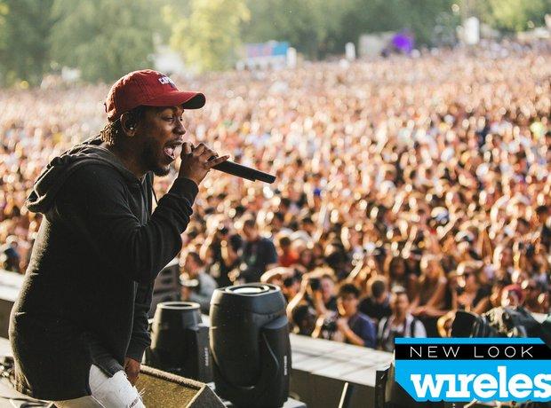 Kendrick Lamar Wireless Festival 2015