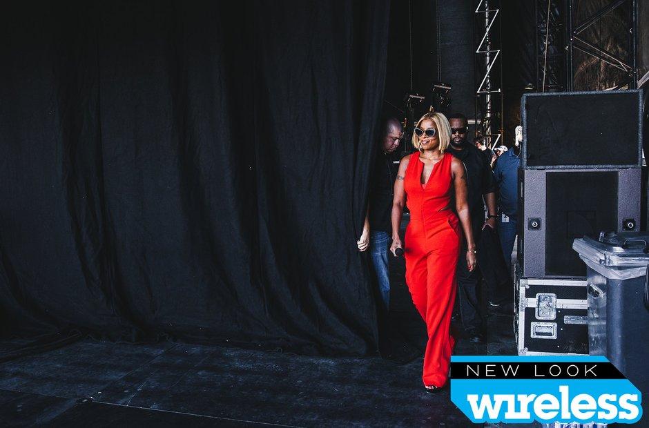 Mary J Blige Wireless Festival 2015