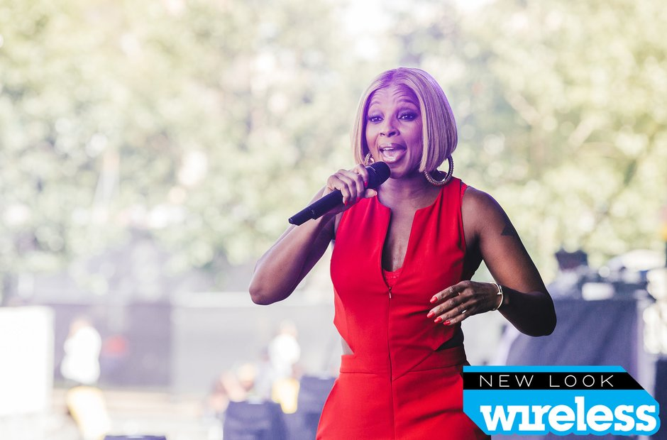 Mary J Blige Wireless Festival 2015