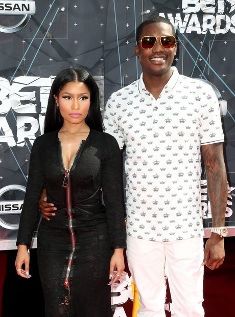 Nicki Minaj and Meek Mill BET Awards Red Carpet 20