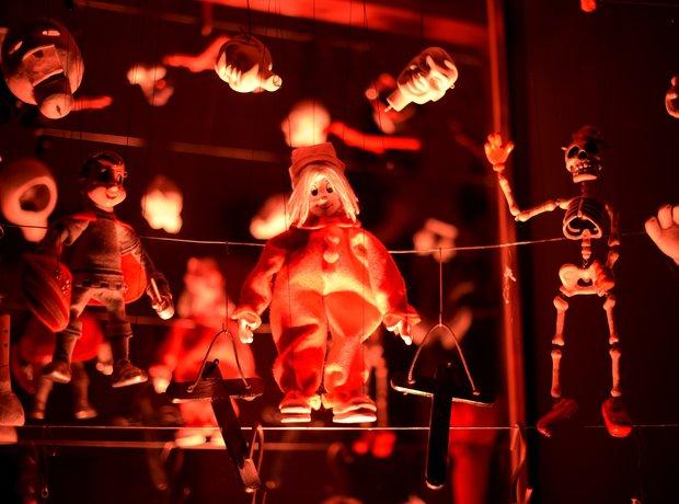 Rihanna Marionette puppets