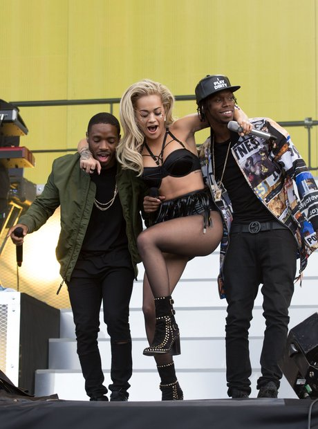 Rita Ora, Krept and Konan