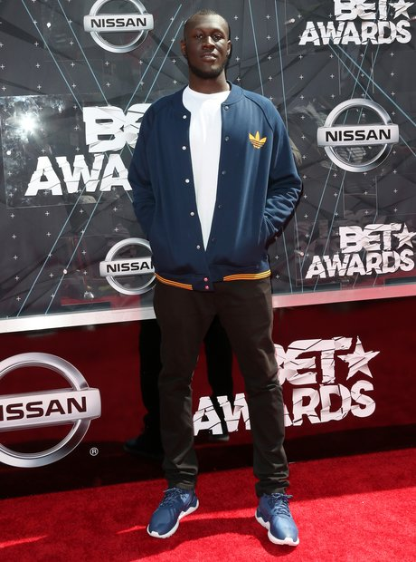 Stormzy BET Awards Red Carpet 2015