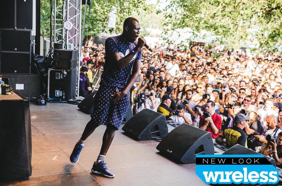 Stormzy Wireless Festival 2015