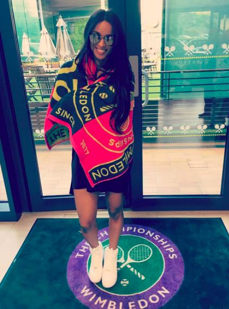 Ciara at Wimbledon