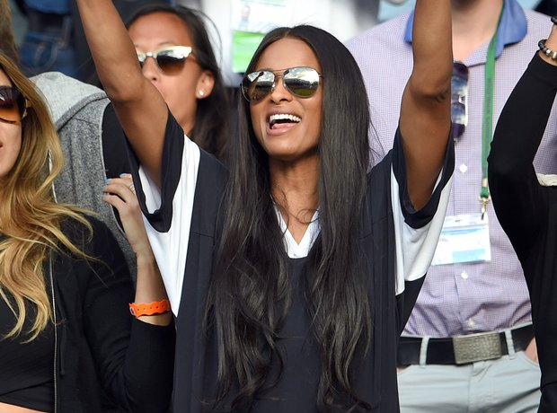 Ciara attends Wimbledon