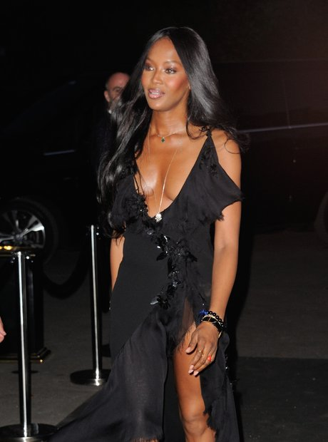 Naomi Campbell Paris Fashion Week