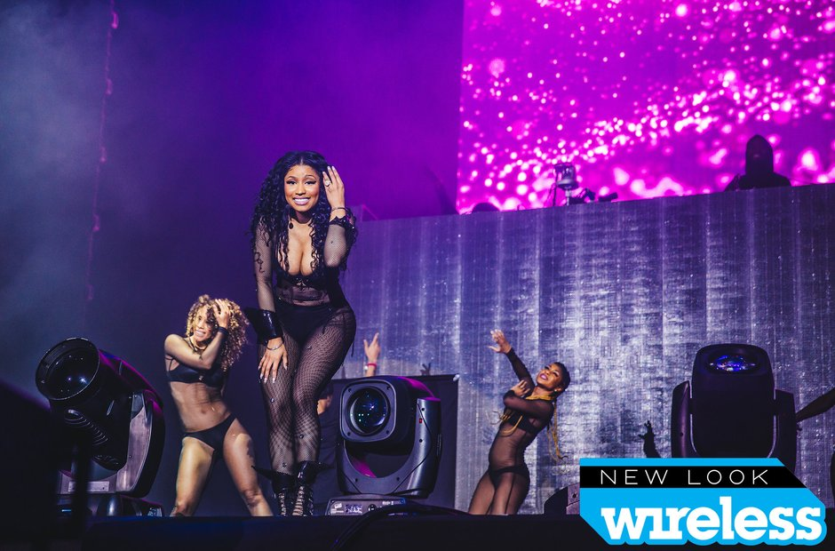 Nicki MInaj Wireless Festival 2015