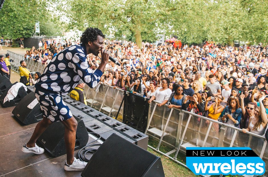 Wretch 32 Wireless Festival 2015