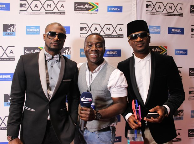 Abrantee and P Square MTV MAMAs 2015