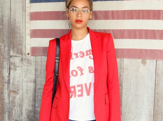 Beyonce American flag