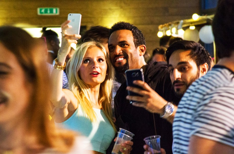 Craig David rooftop party