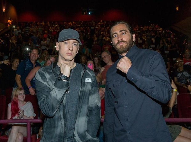 Jake Gyllenhaal and Eminem