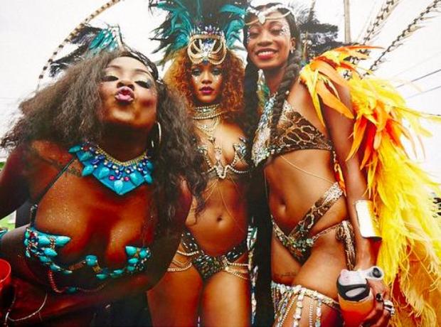 Rihanna Carnival 2015