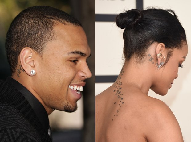 Chris Brown And Rihanna Got Matching Tattoos When They Were