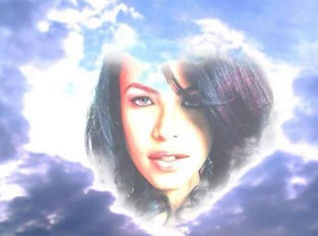 Aaliyah in the clouds