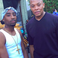 Image 1: Dr Dre and Tupac Actor Marc Rose