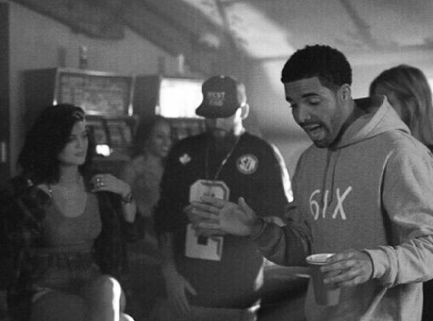 Drake and Kylie Jenner in video