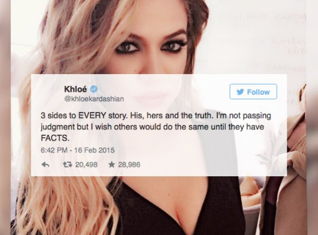 Khloe talks about Tyga and Kylie Jenner