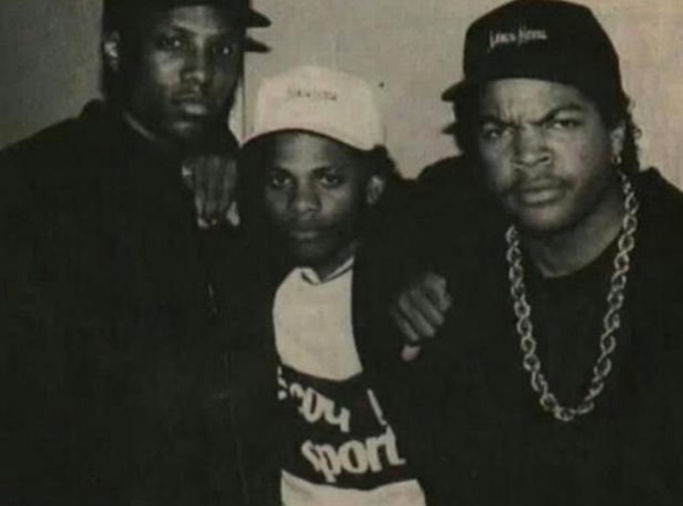 Ice Cube with MC Ren and Eazy E