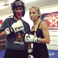 Image 3: Pia Mia in boxing ring