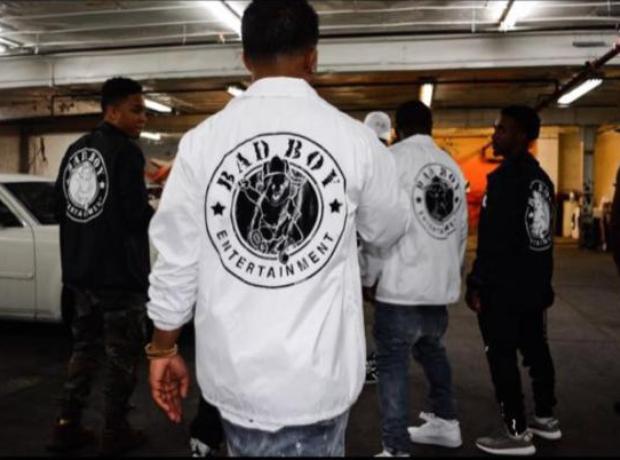 Guys in Bad Boy jackets