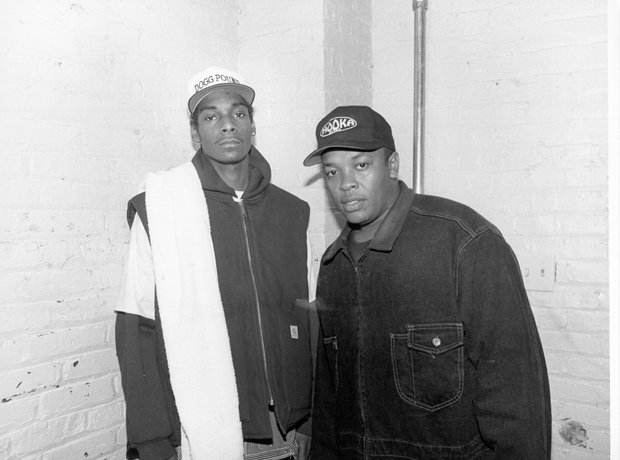 Snoop Dogg and Dr Dre
