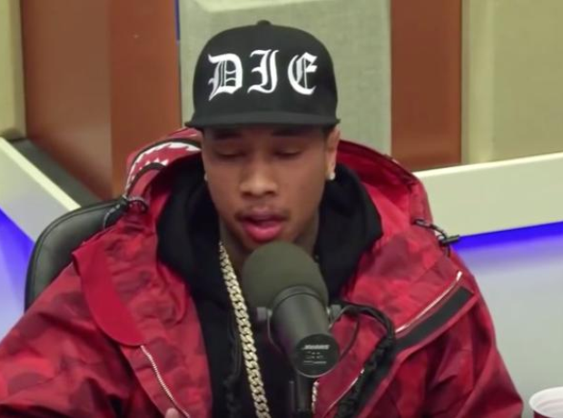 Tyga interview screenshot