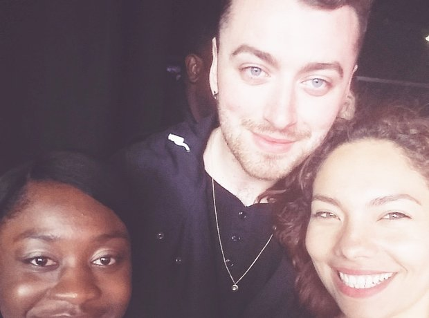 Stunning Selfie with Susan, Stephanie & Sam Smith