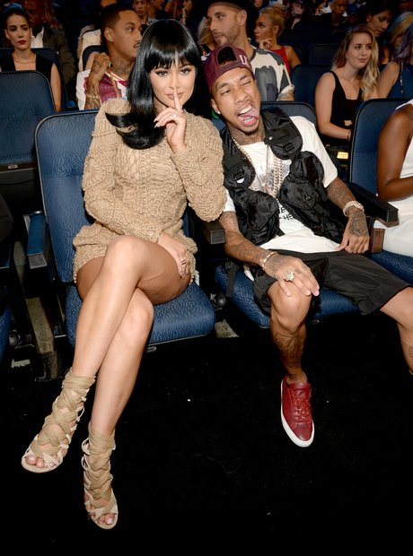 Kylie Jenner and Tyga MTV VMA's 2015
