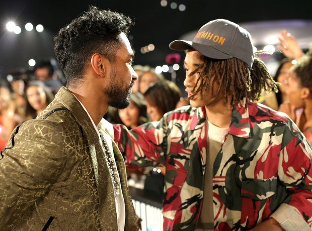 Miguel and Jaden Smith MTV VMAs 2015