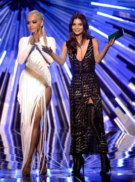 Rita Ora at the MTV VMAs 2015
