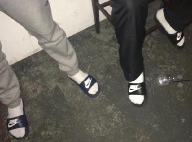 Skepta Socks Sandles