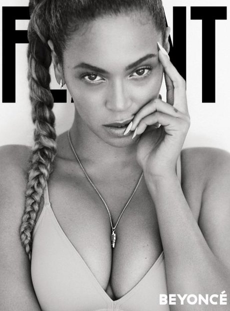 Beyonce Flaunt Cover