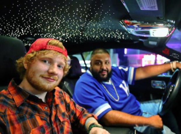 DJ Khaled Ed Sheeran Car