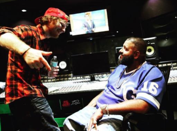 DJ Khaled Ed Sheeran Studio