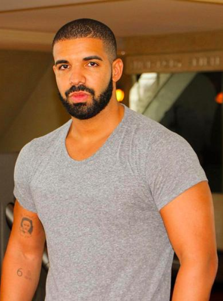 Drake at the gym