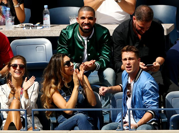 Drake attends the US Open in NYC
