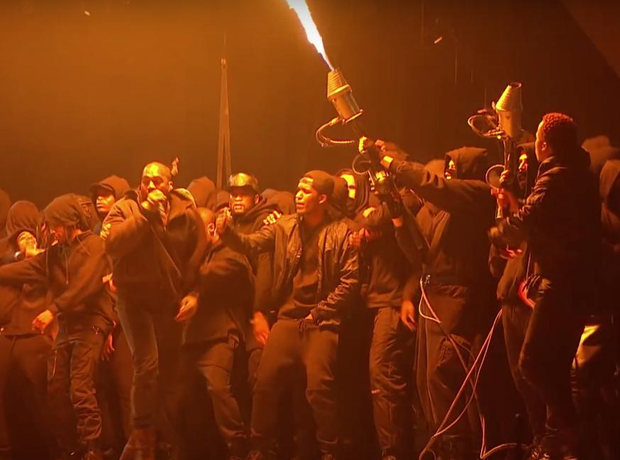 Kanye West Brits All Day Video