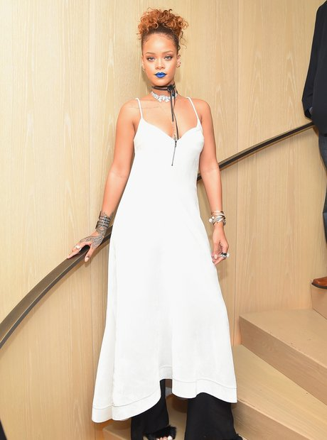 Rihanna attends New York Party
